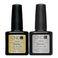 CND Shellac Top and Base