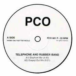PCO (PENGUIN CAFE ORCHESTRA) - Telephone And Rubber Band - Maxi 45T