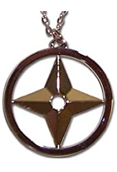 Naruto Throwing Star Necklace GE7820