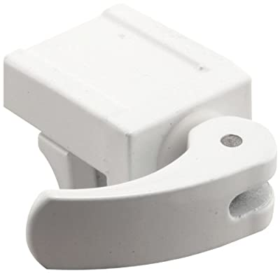 Prime-Line Products U 9809 Sliding Window Lock, 1/2 in., Diecast Construction, White, FOR VINYL WINDOWS (Pack of 2)