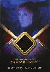 Women of Star Trek WCC18 Beverly Crusher Costume Card