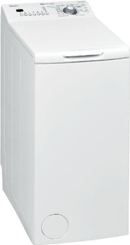 Bauknecht WMT EcoStar 6 Di Waschmaschine A++ / Toplader / 1200 UpM / 6 kg / Green Intelligence /  Kurz 15  Schnelle Wäsche in 15 Min. / Small display / Vollwasserschutz  /  Hygiene+ Programm  / Weiß