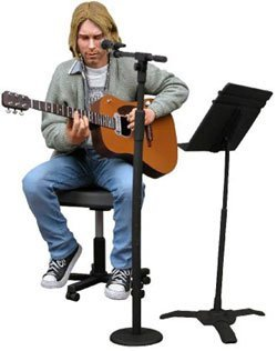 Kurt Cobain Unplugged Action Figure by NECA