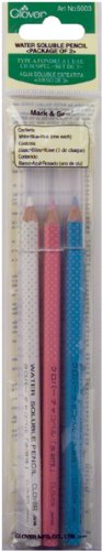 Clover Water Soluble Pencil Assortment, 3EA