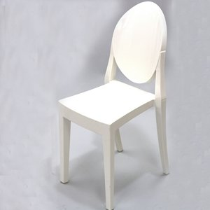philippe starck style victoria white ghost chair modern ghost chair new ebay. Black Bedroom Furniture Sets. Home Design Ideas