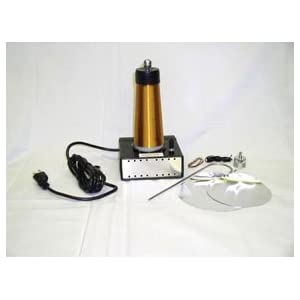 Click to buy Tesla Coil High Frequency Demo Apparatus, 110V from Amazon!