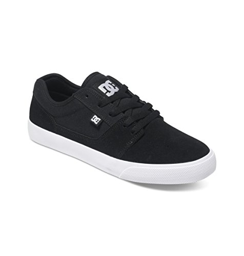 DC Shoes TONIK M, Low-Top Sneaker uomo, Negro (black/white/black xkwk), 46