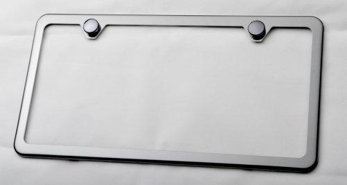 I Love My English Bulldog Chrome License Plate Frame