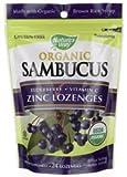 Natures Way Organic Lozenge, Elderberr Zinc, 24 Count