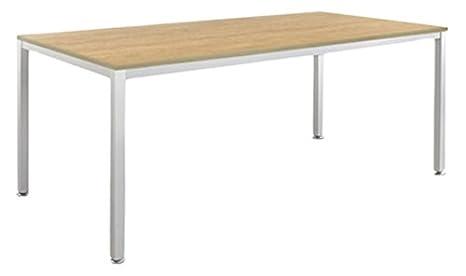 weko Systemmöbel baureihe e AZ-TYP-19C Tisch, Holz, eiche, 80 x 160 x 72 cm