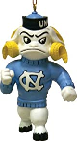 North Carolina Tar Heels Rameses Mascot Ornament-North Carolina