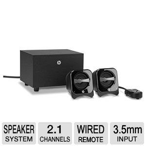 Hp 2.1 Compact Speaker System (Br386Aa#Abl)