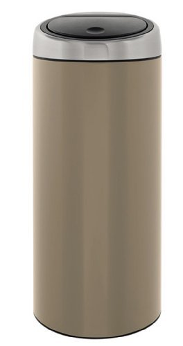 Brabantia Touch Bin 30 Liter Flat Top.Brabantia Touch Bin 30 Liter Taupe David M Hurleyiut