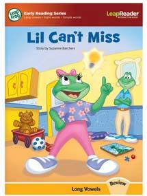 """Lil Can't Miss"" is a review book featuring all of the long vowel sounds."