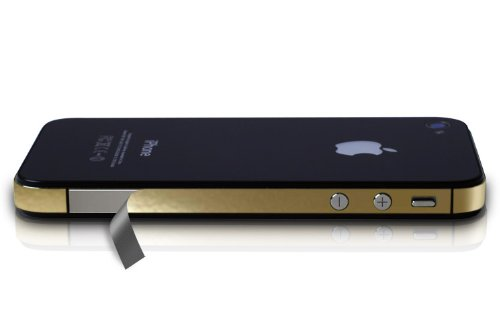 iPhone 4S Vinyl Antenna Wrap for AT&T , Sprint, and Verizon - Gold