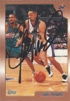 Juwan Howard Washington Wizards 1999 Topps Autographed Hand Signed Trading Card. by Hall+of+Fame+Memorabilia