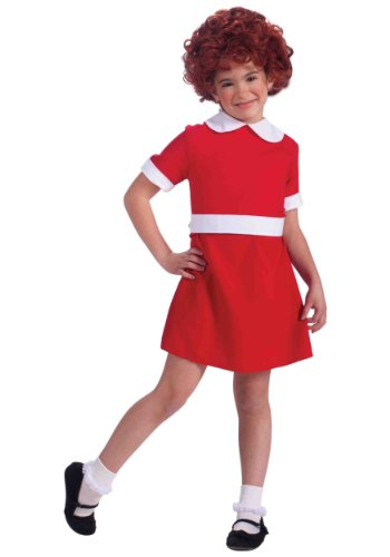 Little Orphan Annie Child Costume, Medium
