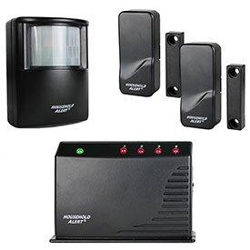 Skylink Ha-400 Long-Range Alert Kit With 1 Motion Sensor And 2 Door/Window Sensors; Be Notified Of Your Surroundings.