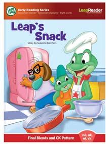 """""""Leap's Snack"""" features final blends and CK pattern (nd, nk, nt, ck)"""