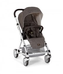 Mamas & Papas 2015 Urbo2 Stroller w/ Chrome Chassis - Chestnut Tweed - 1