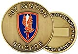 US Army 1st Aviation Brigade Challenge Coin