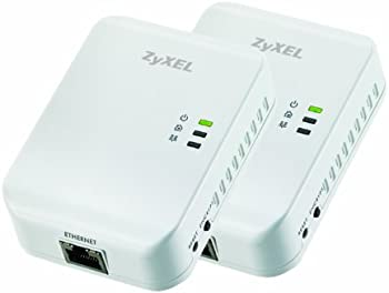 ZyXEL 200 Mbps Powerline Wall-plug Adapter