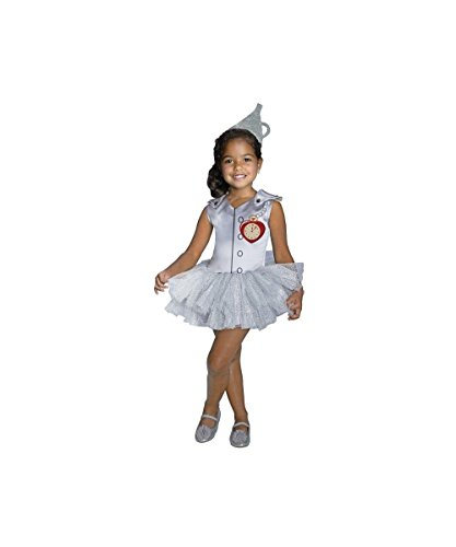 Wizard of Oz Tin Man Tutu Girls Costume