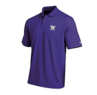 NCAA Washington Huskies Mens Performance Polo Shirt by Under Armour
