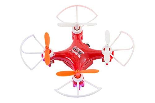 XciteRC-15007200-Ferngesteuerter-RC-Quadrocopter-Rocket-55XXS-3D-4-Kanal-RTF-Drohne-rot