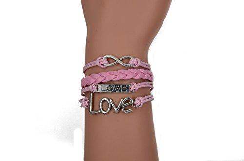 CAETLE-Vintage-Bracelet-Infinity-Love-Leather-Rope-Infinite-Bangle