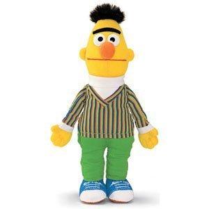 """Gund Sesame Street Bert Finger Puppet 6.25"""" Puppets by Gund"""