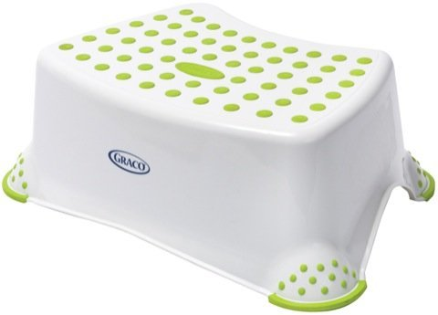 Graco Sure Foot Step Stool Green Baby Toddler Diapering