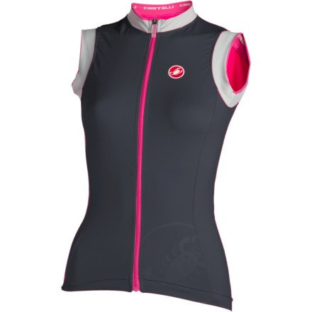 Image of Castelli Perla Cycling Jersey - Sleeveless - Women's (B0077TW63Q)