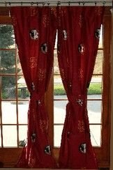 """Ncaa Printed Curtain Panel Pair Size: 42"""" X 84"""", Ncaa Team: Florida State front-942435"""