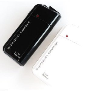 NEEWER® Black Portable AA Battery Powered Travel Charger for iPod, iPhone, Mp3 Player, or ANY USB Charging Device