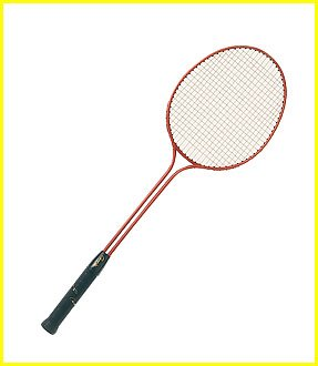 Olympia Sports RA114P Twin Shaft Steel Badminton Racquet