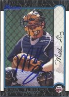 Matt LeCroy Minnesota Twins 1999 Bowman Autographed Hand Signed Trading Card - Rookie... by Hall+of+Fame+Memorabilia