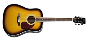 Hofner HAS D01 Dreadnought Acoustic Guitar, Sunburst available at Amazon for Rs.9350