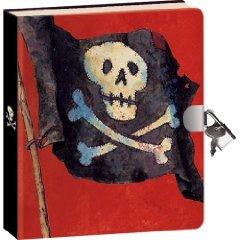 Pirate Lock & Key Diary