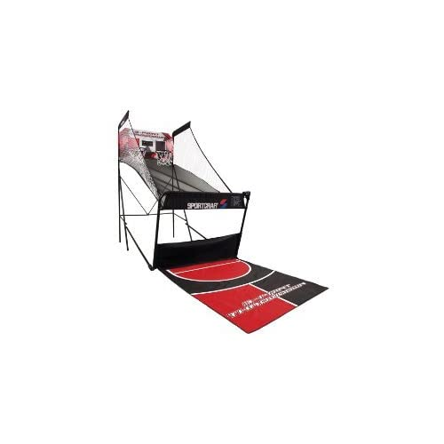Amazon.com: Sportcraft 3 Point Throwdown Basketball - Red/ Black