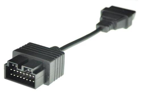 20 Pin OBD1 to OBD2 DLC Diagnostic Adapter Cable for Kia Connectors