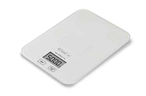 Trevidea PR149 Balance de cuisine électronique Slimmy, compacte, lecture numérique (blanc)