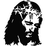 Jesus Christ Blood Save Life - Message Decal Vinyl Car Wall Laptop Cellphone Sticker