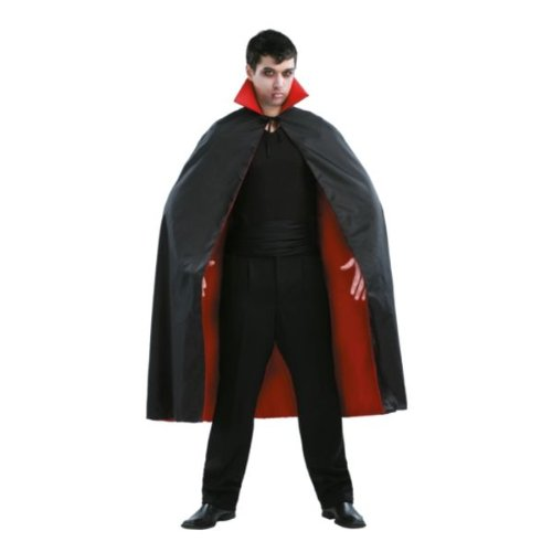 "Kmart - Totally Ghoul Men's Vampire Cape Costume Costume, 54"", Black"