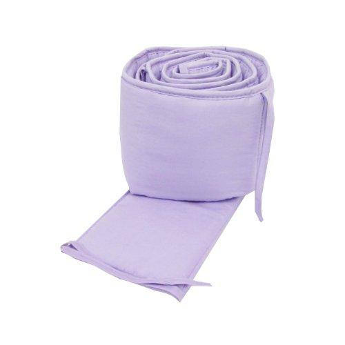 Imagen de American Baby empresa 100% algodón percal Cuna Bumper, Lavanda