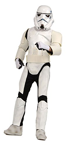 Adult Deluxe Stormtrooper Halloween Costume - Most Adults