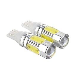 See T10 7.5W Cool White Light LED Bulb for Car (12-30V,2 pcs) Details