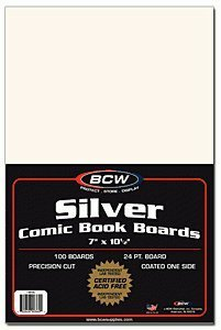 BCW Backing Boards, 7 x 10 1/2