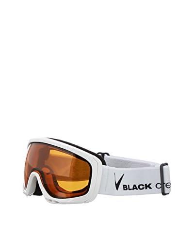 Black Crevice Máscara de Esquí Blanco / Negro
