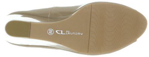 CL by Chinese Laundry Women's Nolita Patent Wedge Pump, Nude, 7 M US